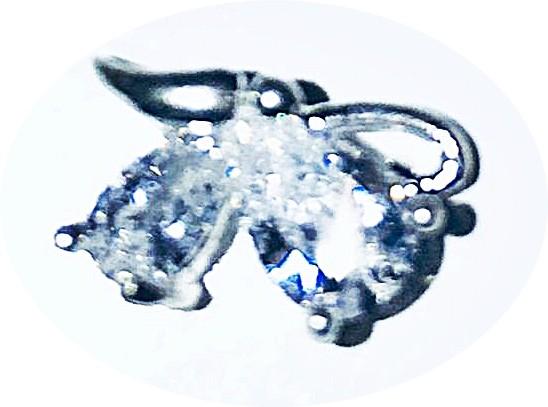 Overlay Glamour Crystal Strass