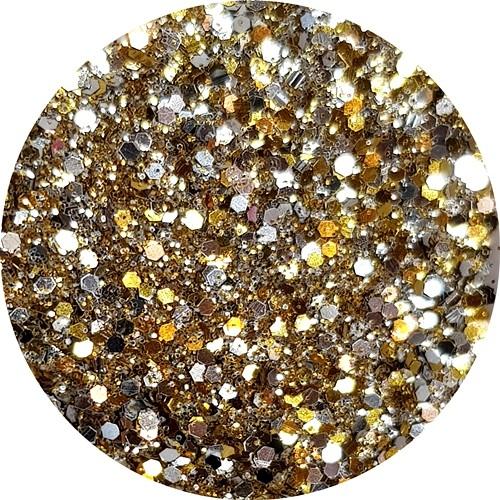 Glamour Glitter Swirl Treasure Island XL-Größe