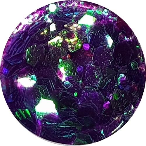 XXL Mega Glitter Swirl Effekt Purple