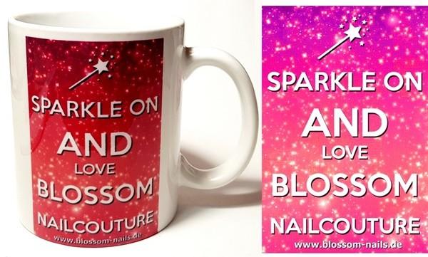 Blossom Nailcouture Fantasse Sparkle On beidseitiger Druck