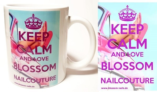 Blossom Nailcouture Fantasse Holiday beidseitiger Druck