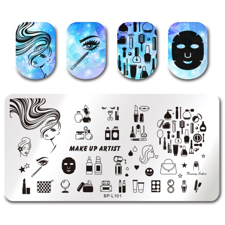 Stamping Plate Make Up Artist