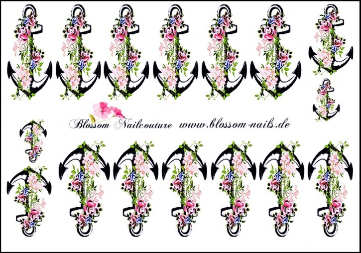 Blossom Nailcouture Wrap Anchor Flowers