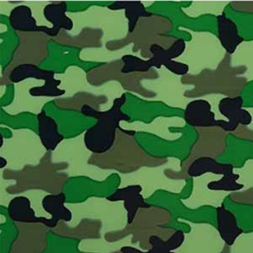 XL Transferfolie Rolle Camouflage Style