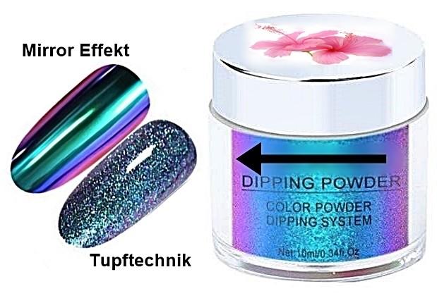Mirror Chameleon Effect Pigment Blue to Pink XL Größe