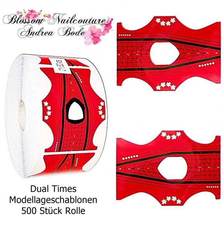 Modellage Schablonen Dual Times 500 Stück