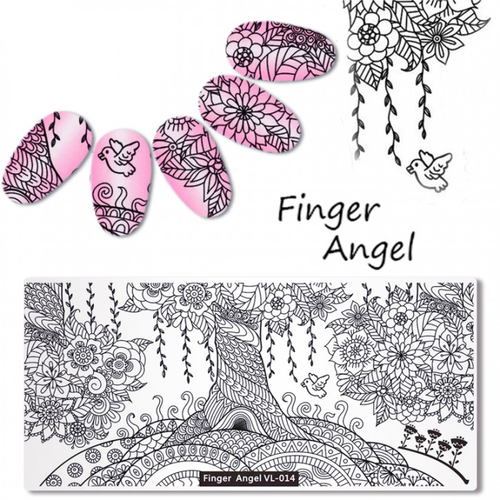 Stamping Plate Finger Angel The Dream Tree