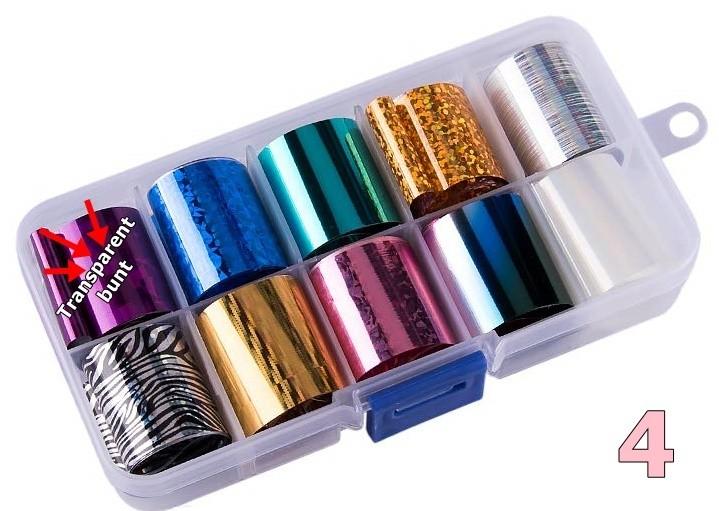 Transferfolien Box Glamour 4