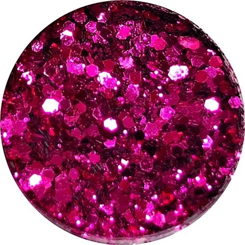 Glamour Glitter Swirl Fuchsia  XL-Größe