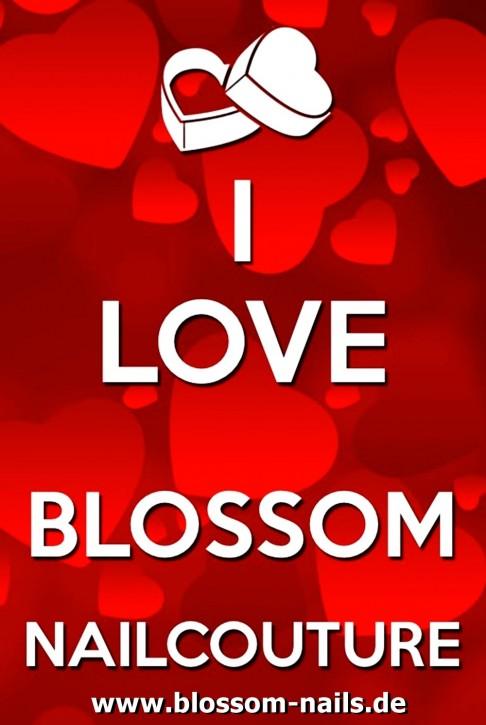 B-WARE (minimale Druckverschmutzung) LIMITED EDITION Blossom Nailcouture Fantasse Love beidseitiger Druck