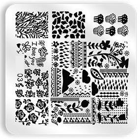 Stamping Plate Moods 03