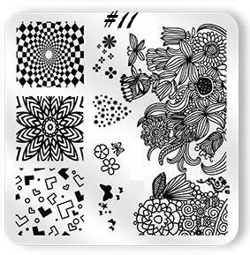 Stamping Plate Summer Feelings 11
