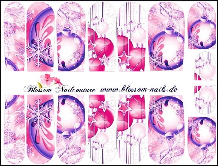 Blossom Nailcouture Wrap Pink XMas