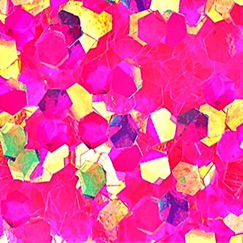 Big Pailletten Ultra Slim Effekt Pink