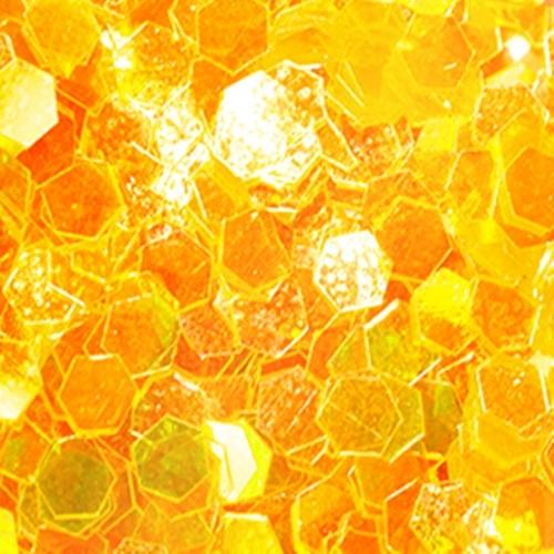 Big Pailletten Ultra Slim Sonnenblumen Gelb