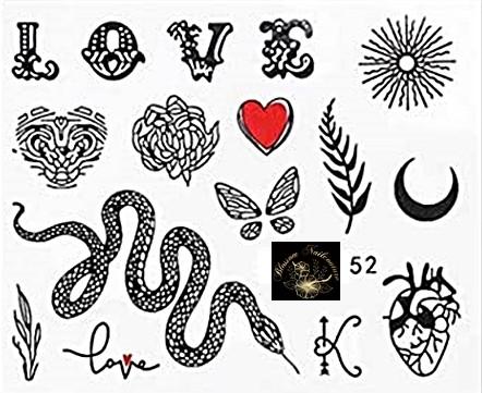 Script 52 Tattoo Slider - hochdeckend