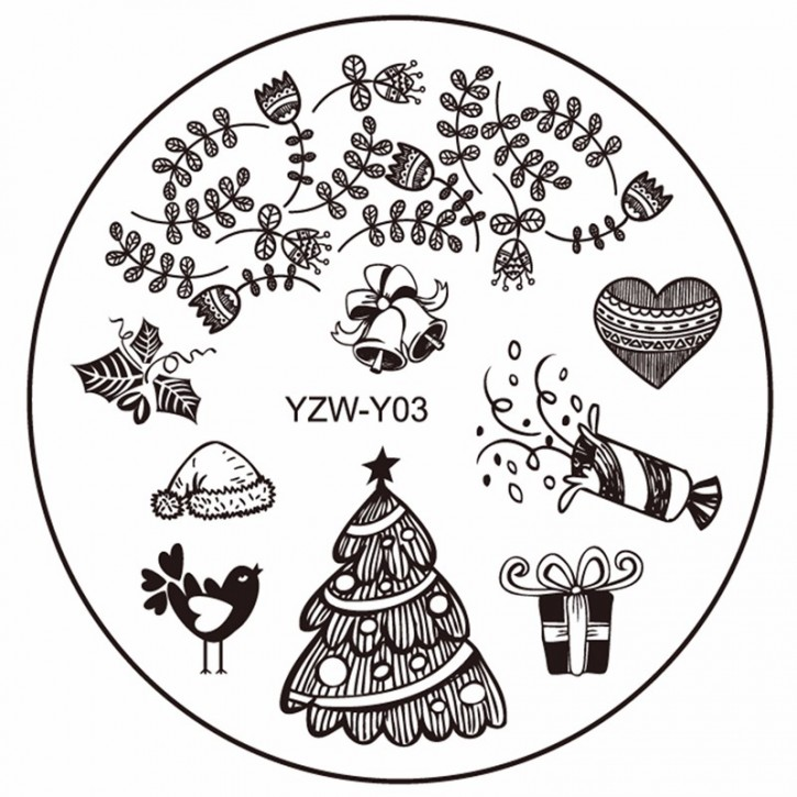 Stamping Plate Christmas Party
