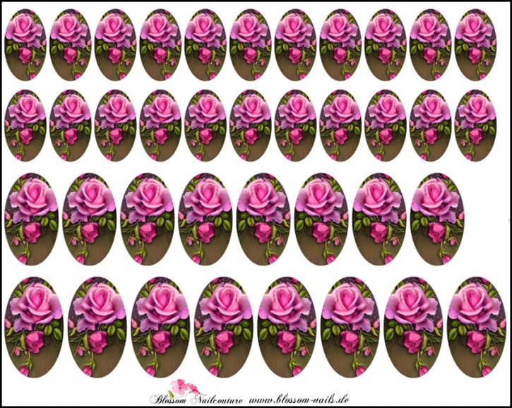 Blossom Nailcouture Wrap Vintage Pink Rose
