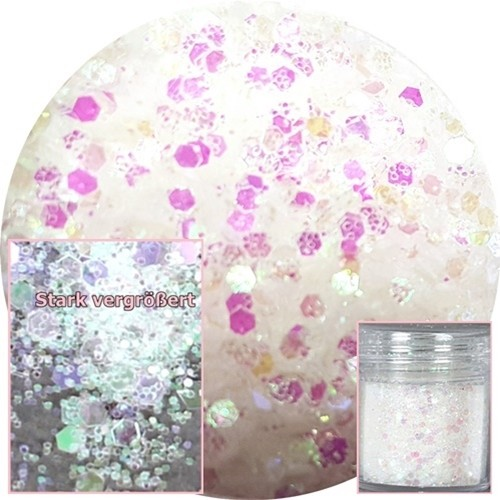 Glamour Glitter Swirl Crystal XL-Größe