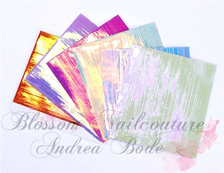 Aurora Mirror Stripes selbstklebend