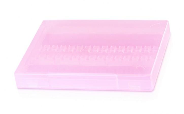 Bit Box Rosa transparent für 15 Bits