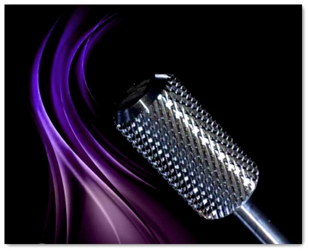 Hartmetall Fräser Bit - Zylinder Medium