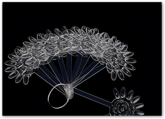 Blumen Präsentations Ring - clear