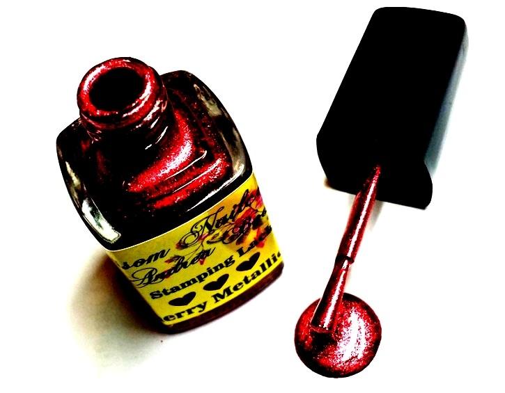 Stamping Lack Cherry Metallic 12ml