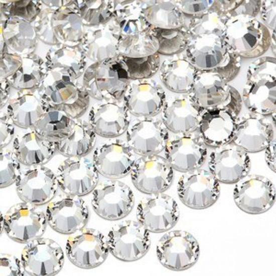 1500 Crystal Strasssteine SS3 hochwertige Glasmanufaktur