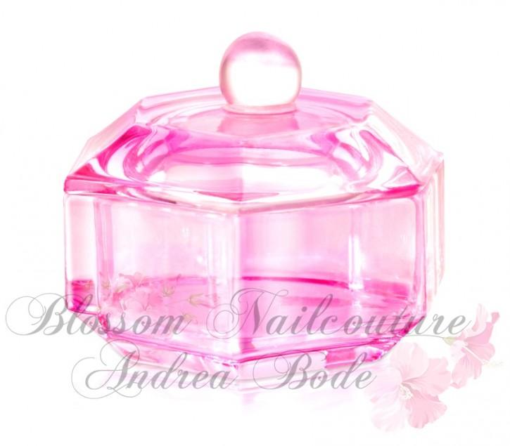 Glas Dappen Dish Pink