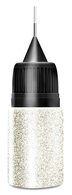Diamond Platin Glitter in Squeezer Flasche