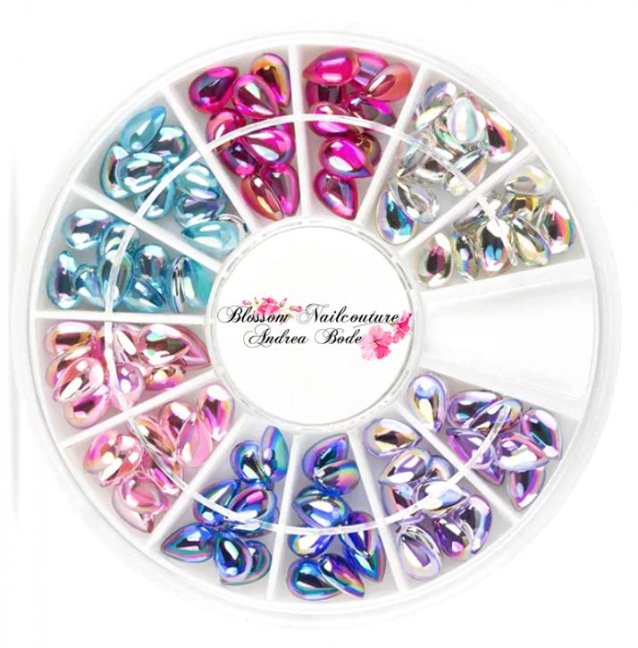 Diamond Teardrops Aurora Rondell