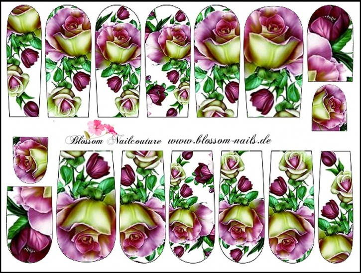 Blossom Nailcouture Wrap Dream Roses