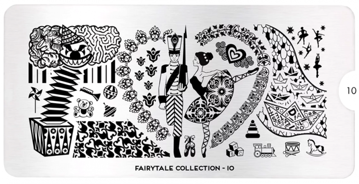 Stamping Plate MoYou Fairytale Collection 10