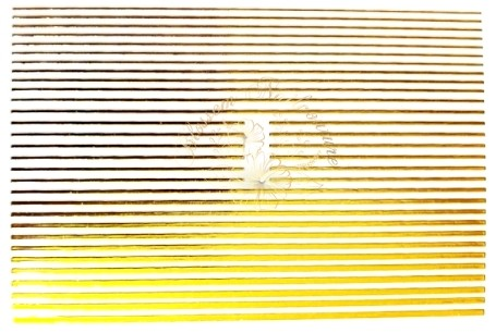 Flexible Stripes Small Edition Gold