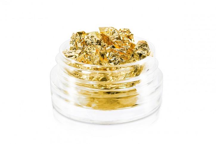 Hauchdünne Nailart Folie Gold