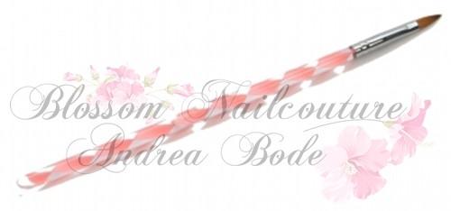 Modellagepinsel Gr.4 Katzenzunge rosa