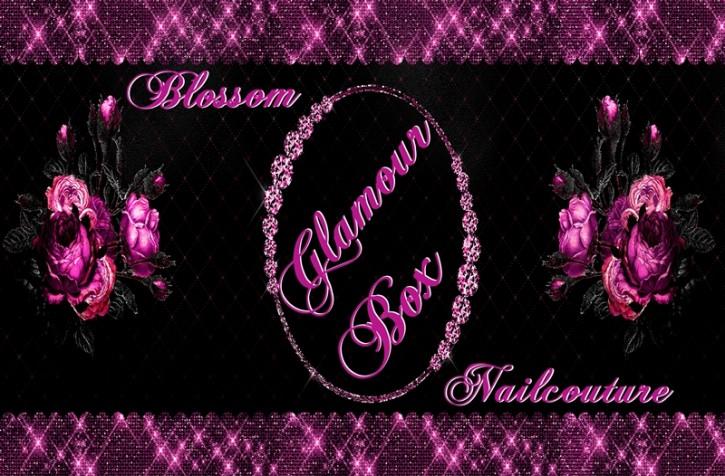 AUSVERKAUFT!! Blossom Nailcouture Glamour Box Black & White - Limited Edition