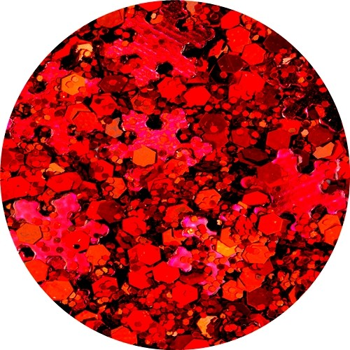 Winter Wonderland Red Mix-Glitter