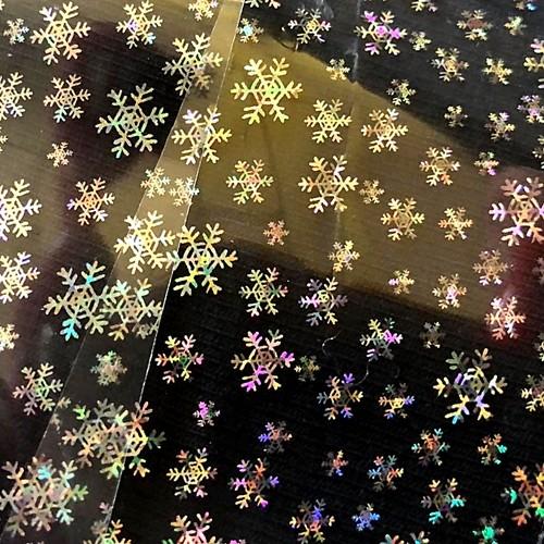 XL Transferfolie Rolle Holo Ice Stars