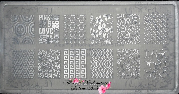 New Generation Stamping Plate Crazy Summer