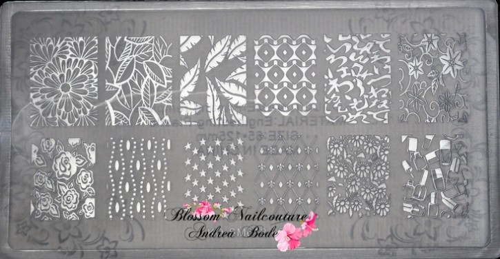 New Generation Stamping Plate Beauty Girls