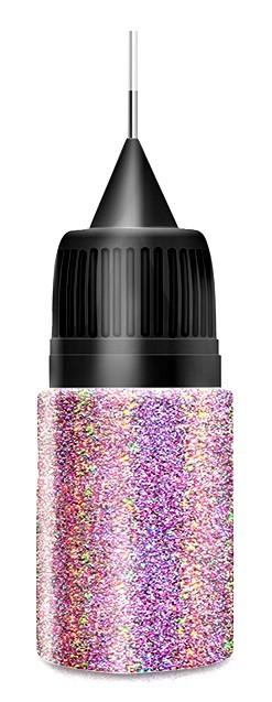 Light Purple Holo Glitterdust in Squeezer Flasche