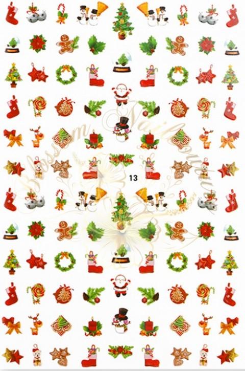 Luminous Holo Christmas Sticker 13