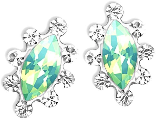 Overlay Chinese Crystal Jade - 2 Stück