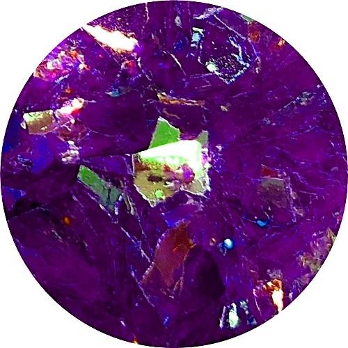 Mirror Shapes Dark Purple