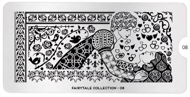 Stamping Plate MoYou Fairytale Collection 08
