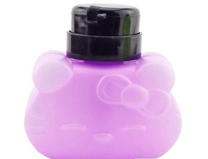 Cute Kitty Dispenser Lilac 330ml