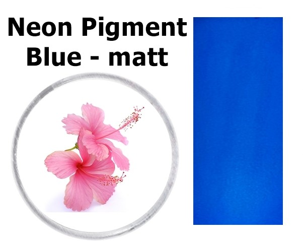 Neon Pigment Blue - matt