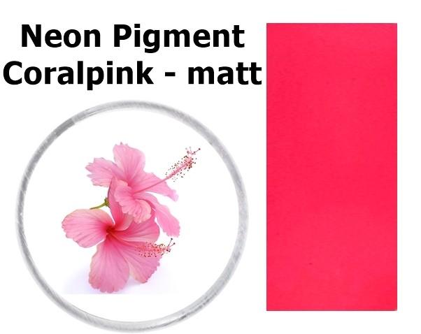 Neon Pigment Coralpink - matt